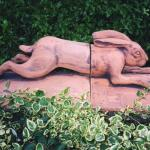 Maggie Curtis -  Running Hare double ridge tile