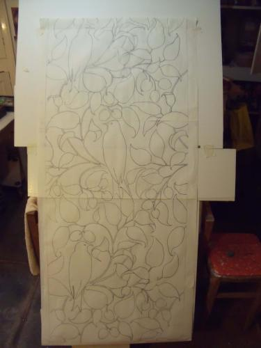 Voysey drawing